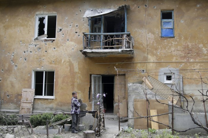 Donetsk, Ukraine, May 19, 2015
