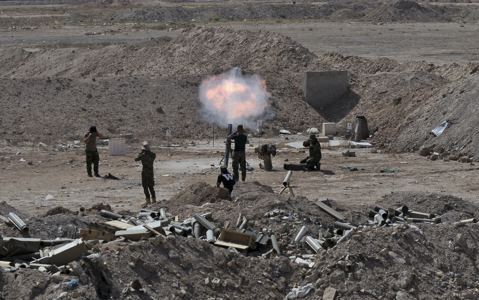 Iraq battle for Ramadi