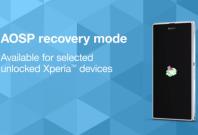 Sony\'s AOSP recovery tool
