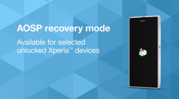 Sony rolls out AOSP-based recovery tool for Xperia Z1, Z1