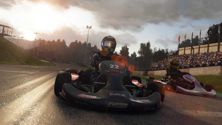 Project Cars karting