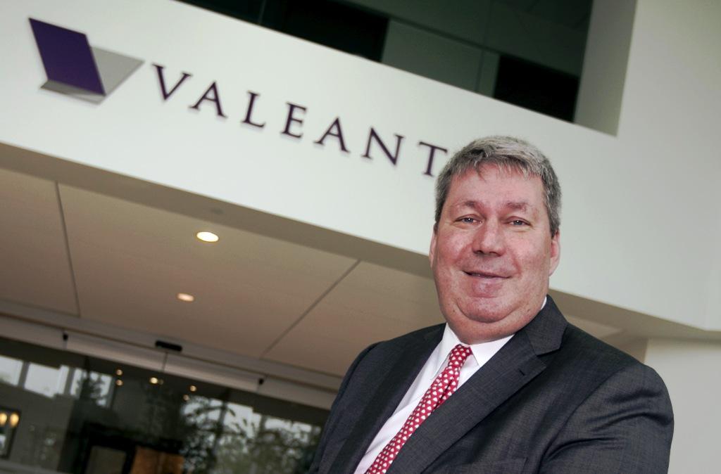Valeant Pharma CEO Pearson