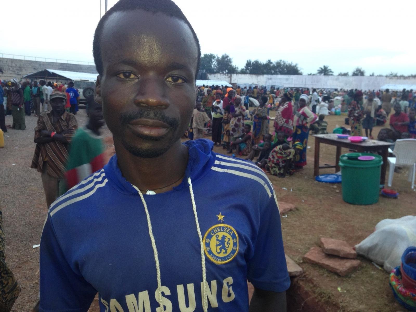 Kigoma refugee centre