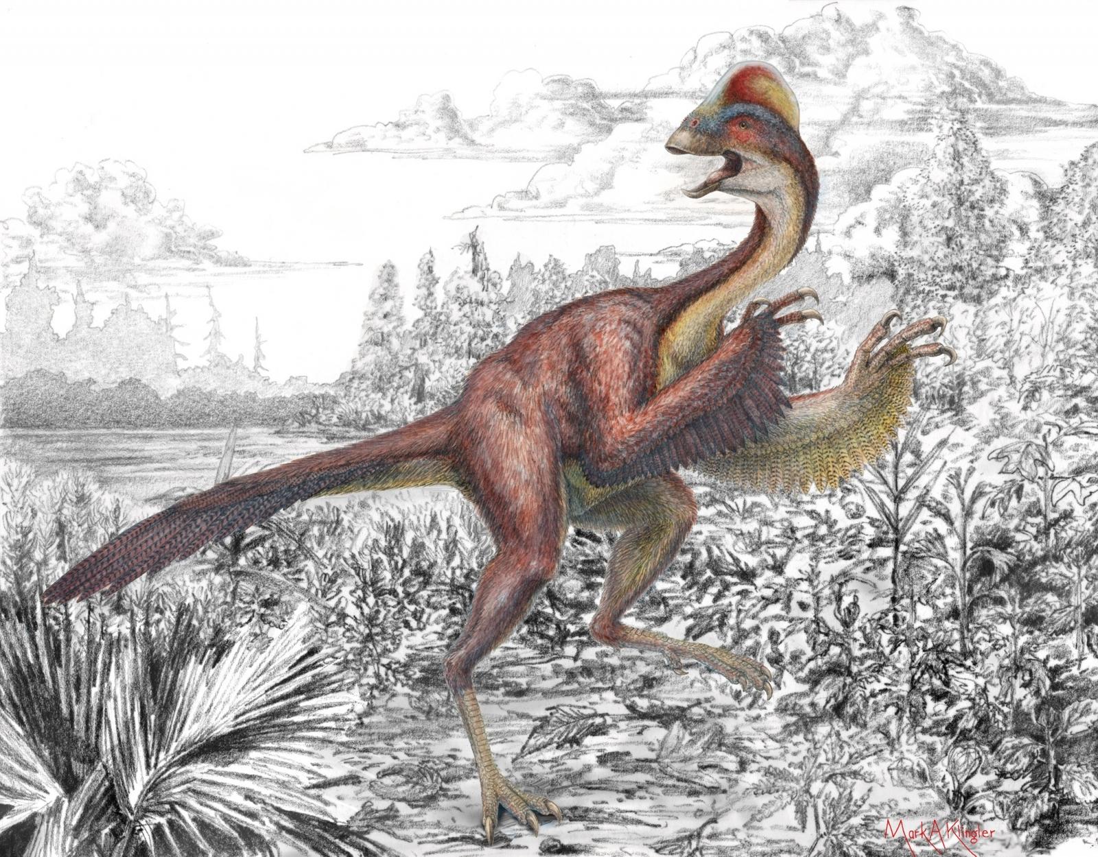 chicken from hell dinosaur