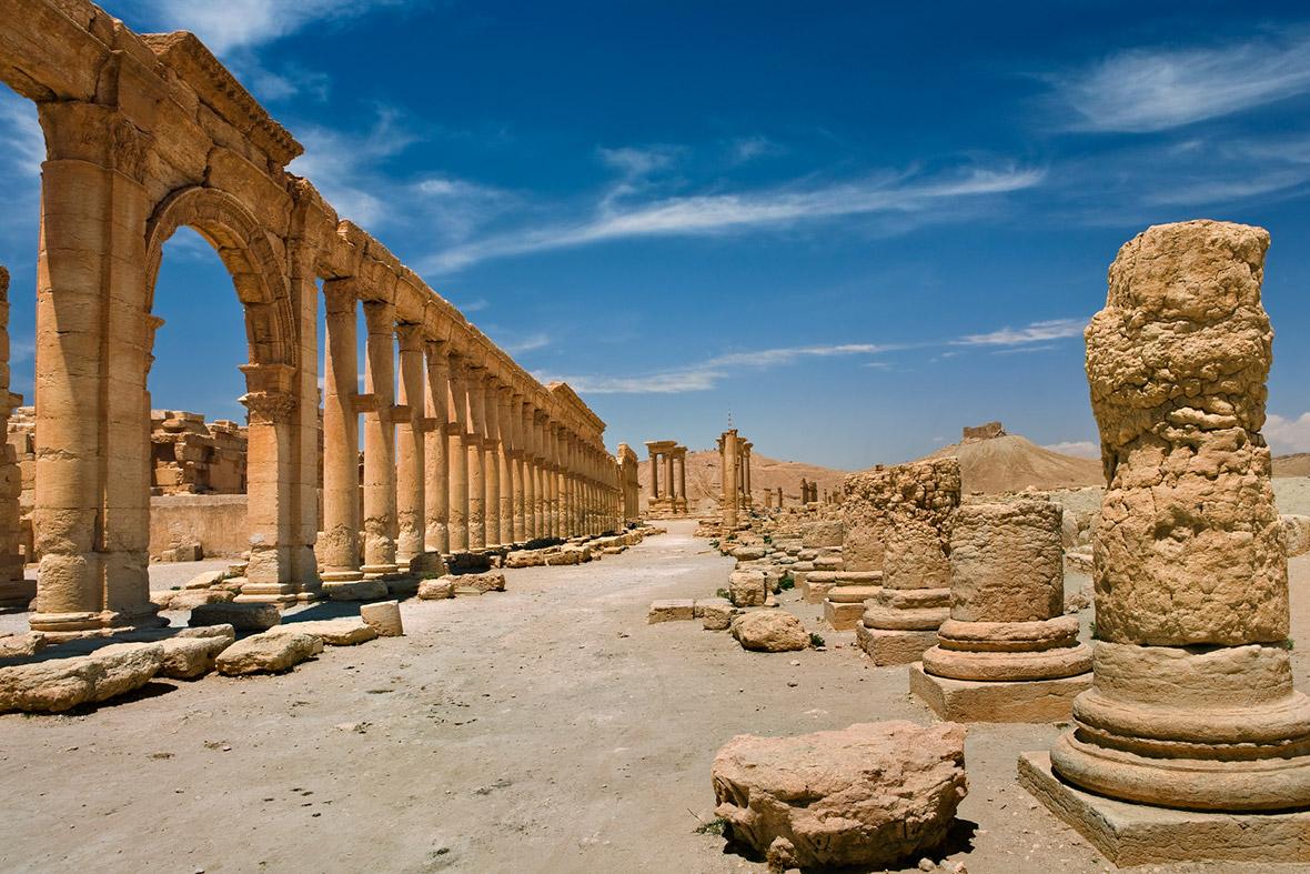 Palmyra Isis Syria