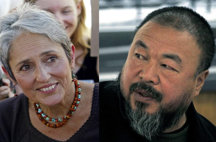 Joan Baez Ai Weiwei