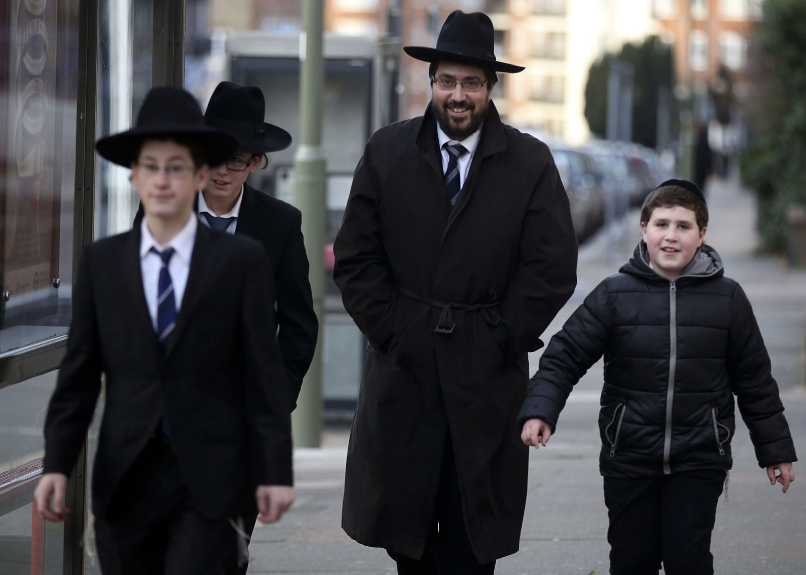Jews in Golders Greeen face threat