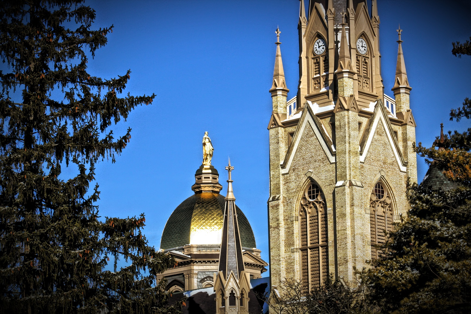 Notre Dame University in Indiana