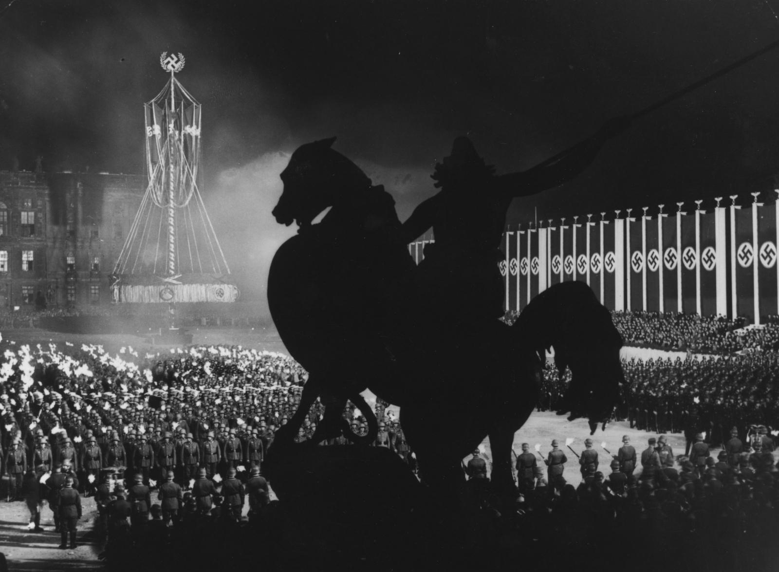 1936 Nazi rally in Berlin