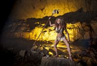 Cave woman