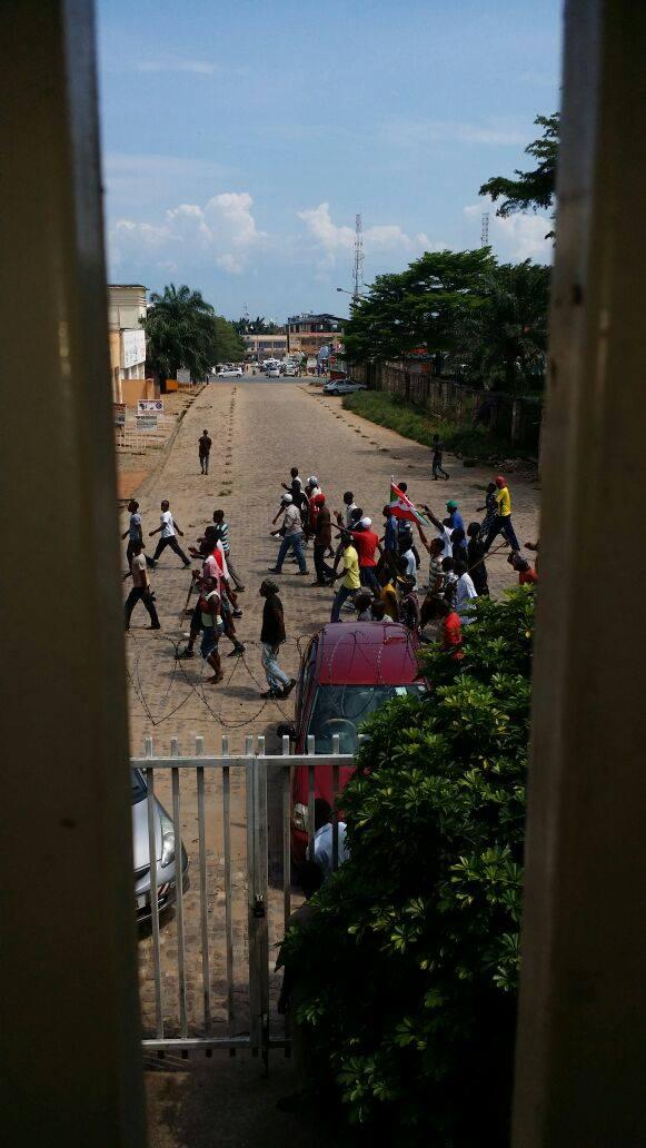 Bujumbura protests