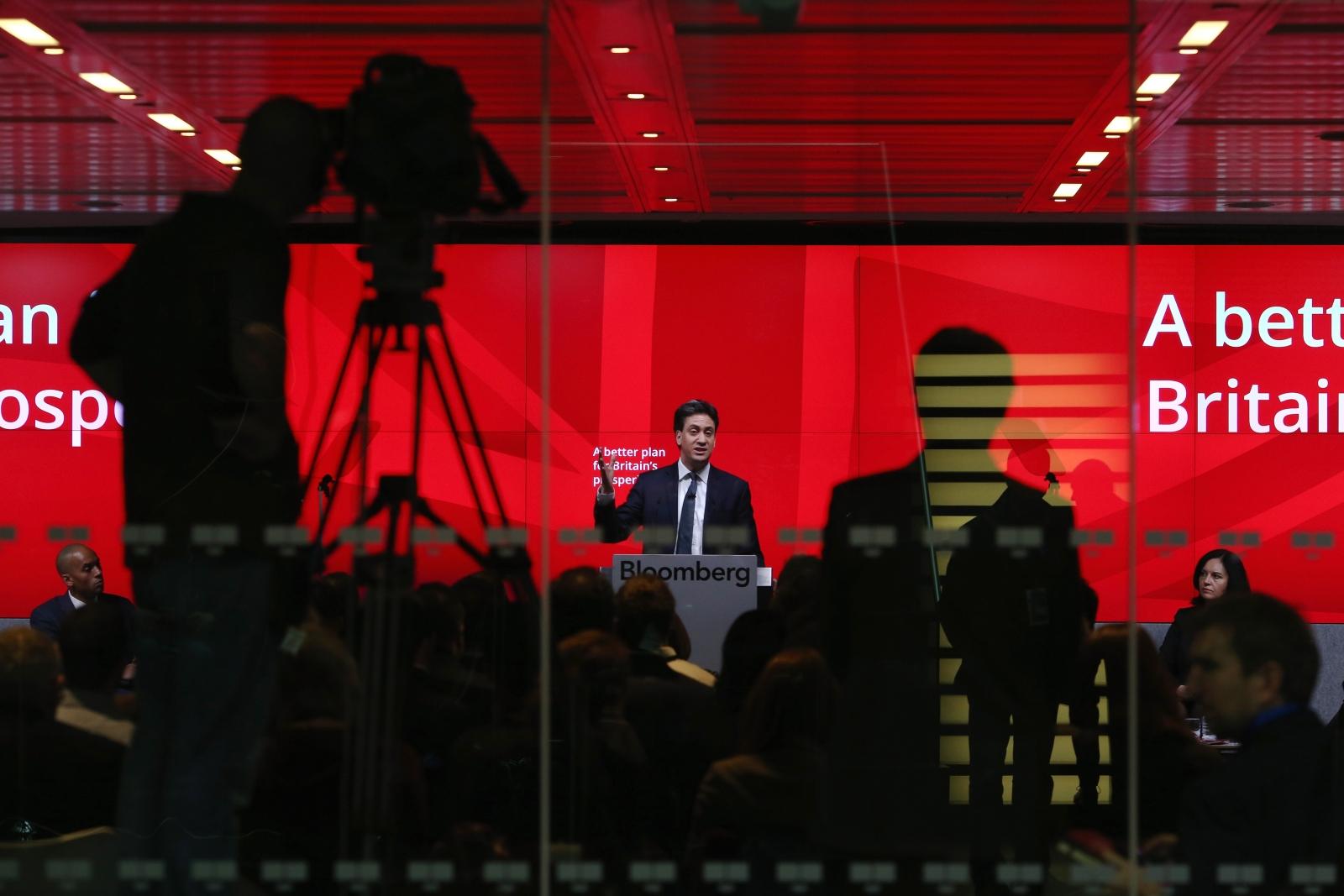 Ed Miliband Bloomberg Speech