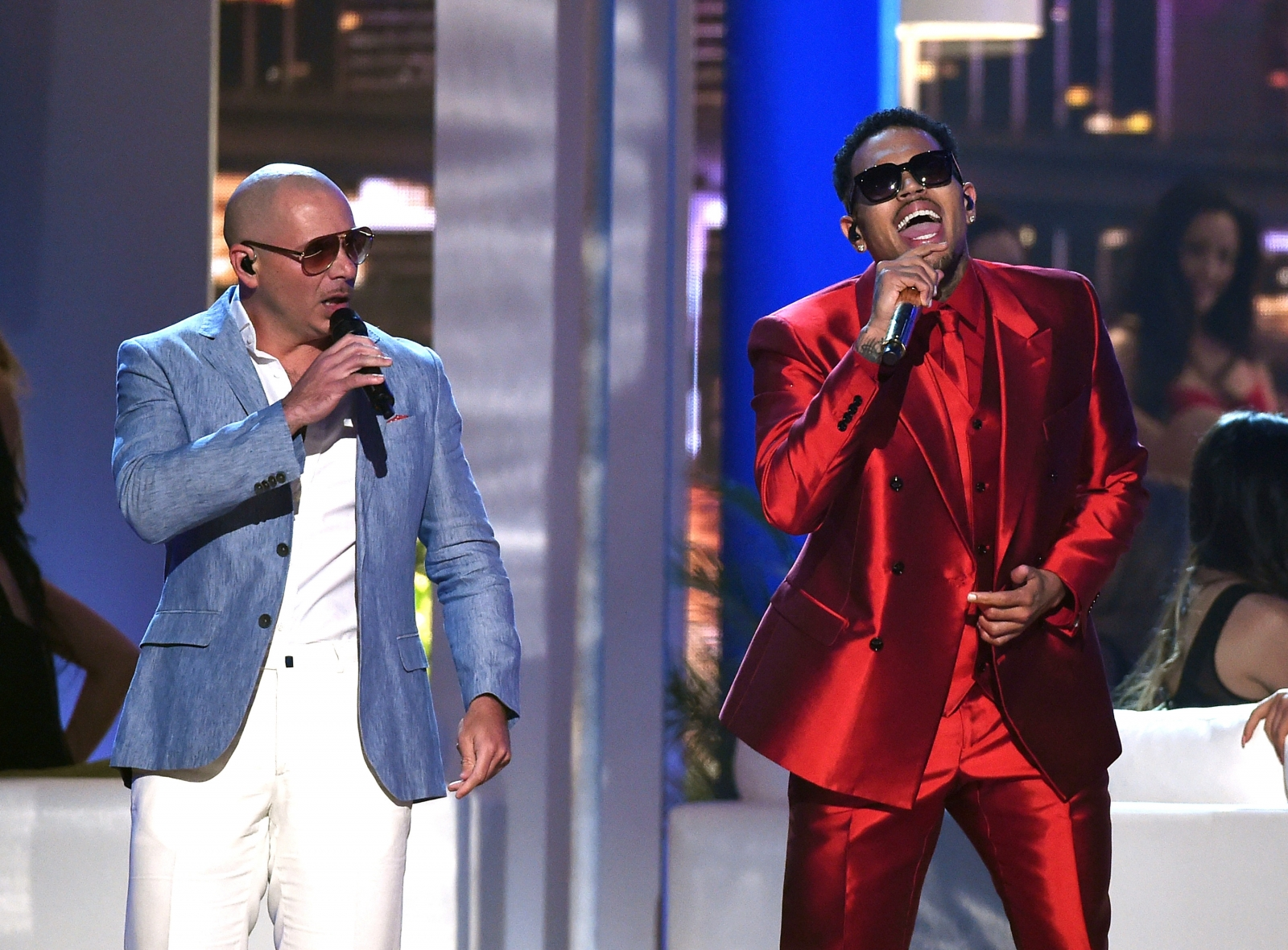 Chris Brown and Pitbull