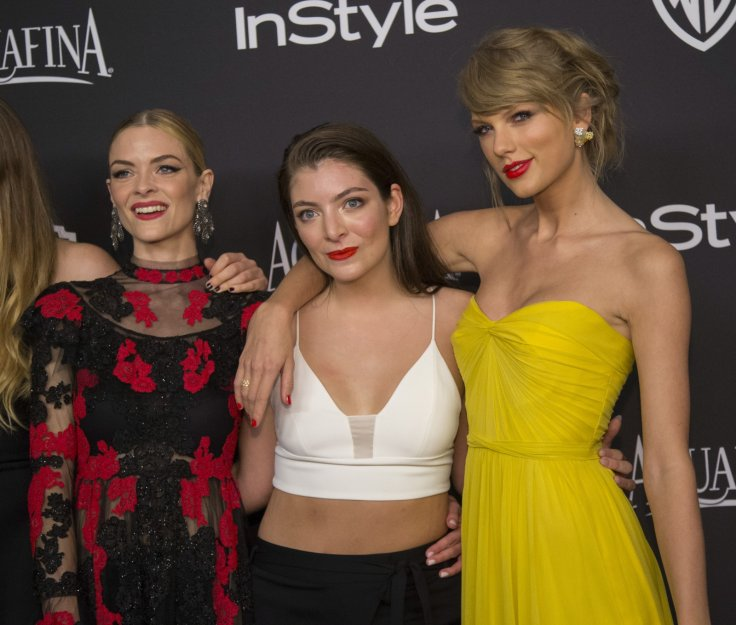 Taylor Swift, Lorde and Jaime King