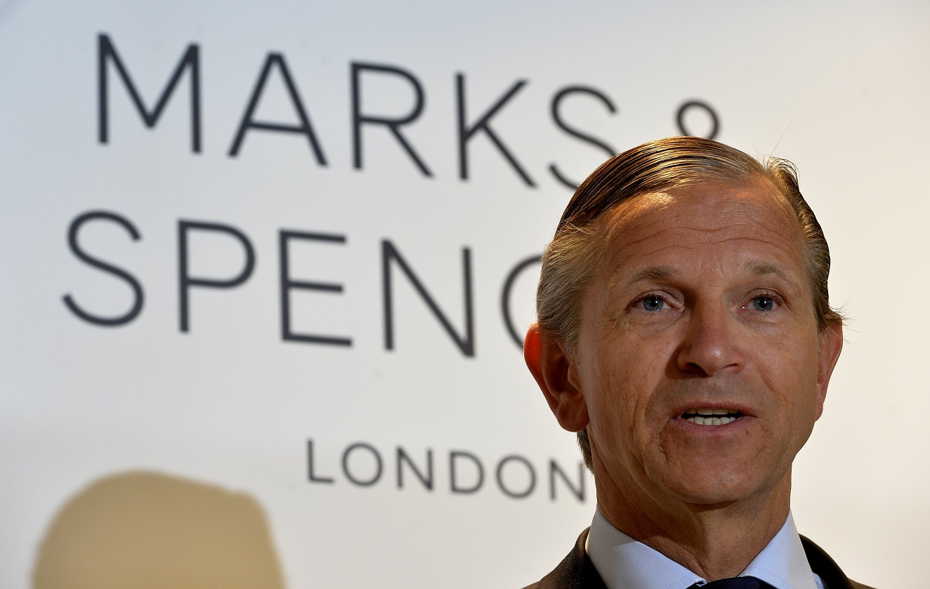 Marc Bolland of Marks & Spencer