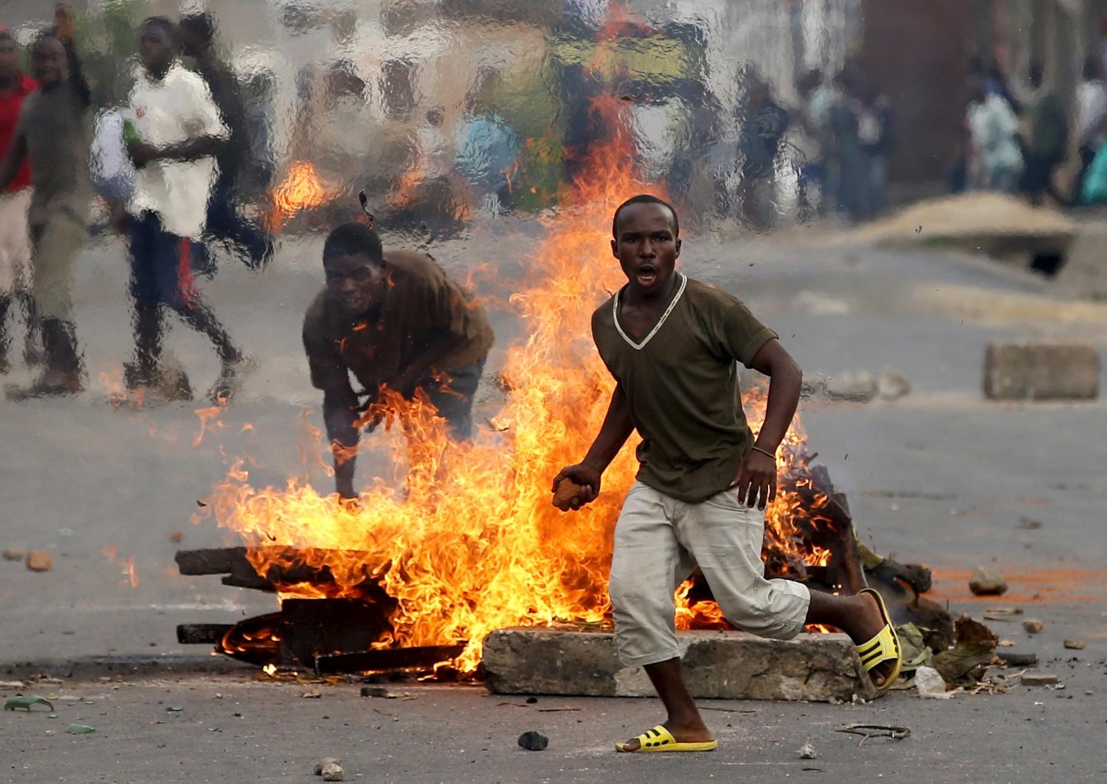 Burundi violent protests