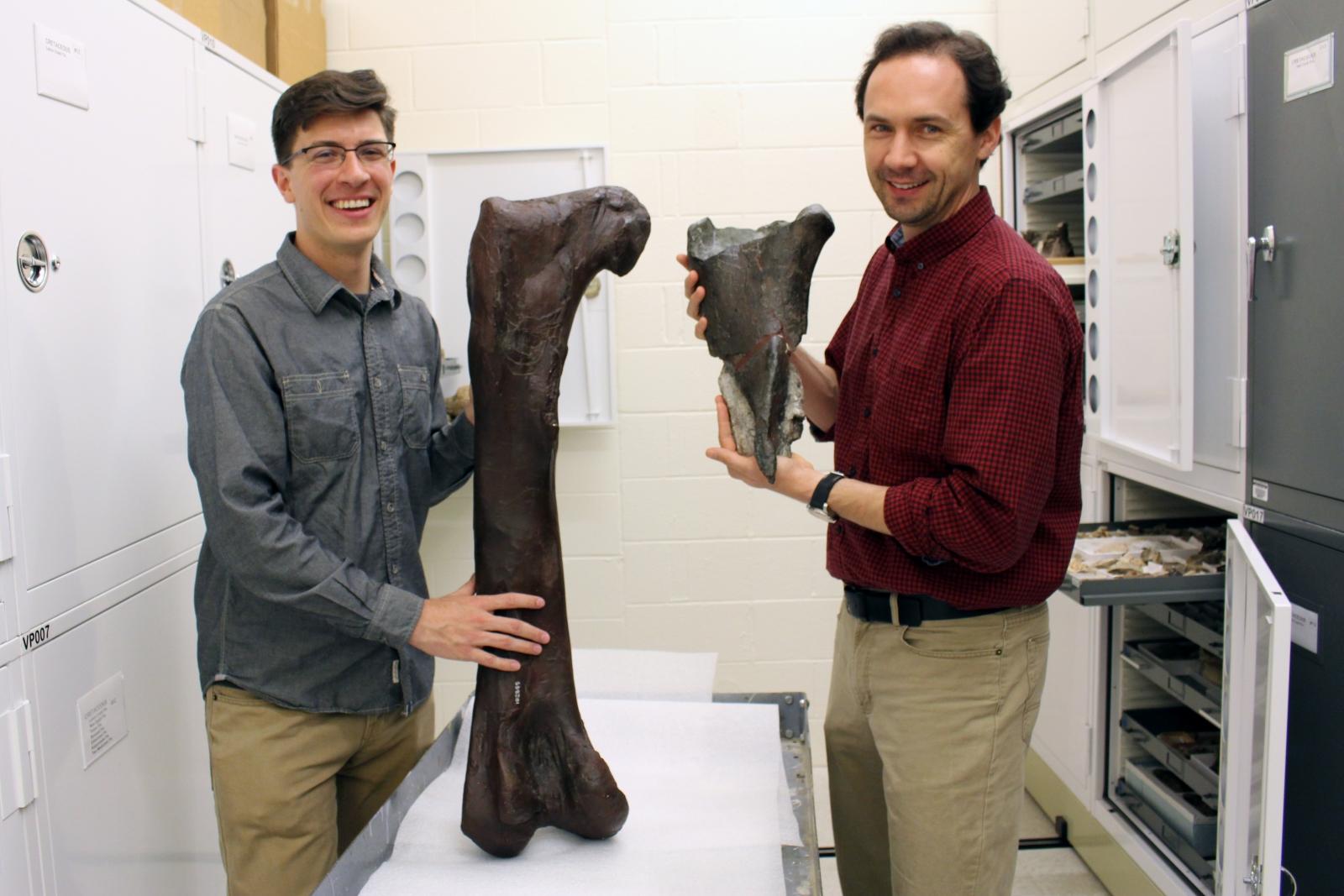 Washington State dino fossil