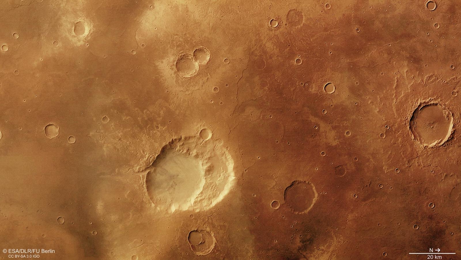 mars supervolcano