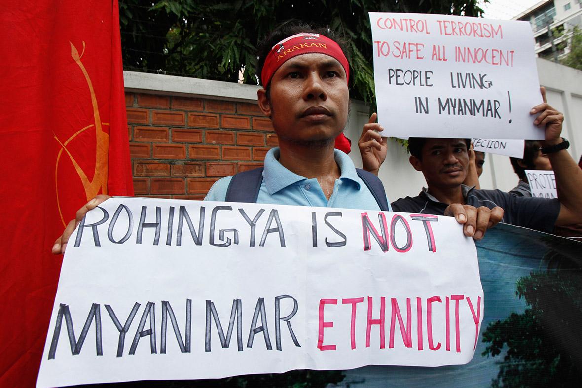 rohingya camp sittwe myanmar