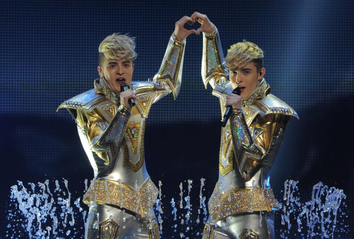 Jedward Eurovision