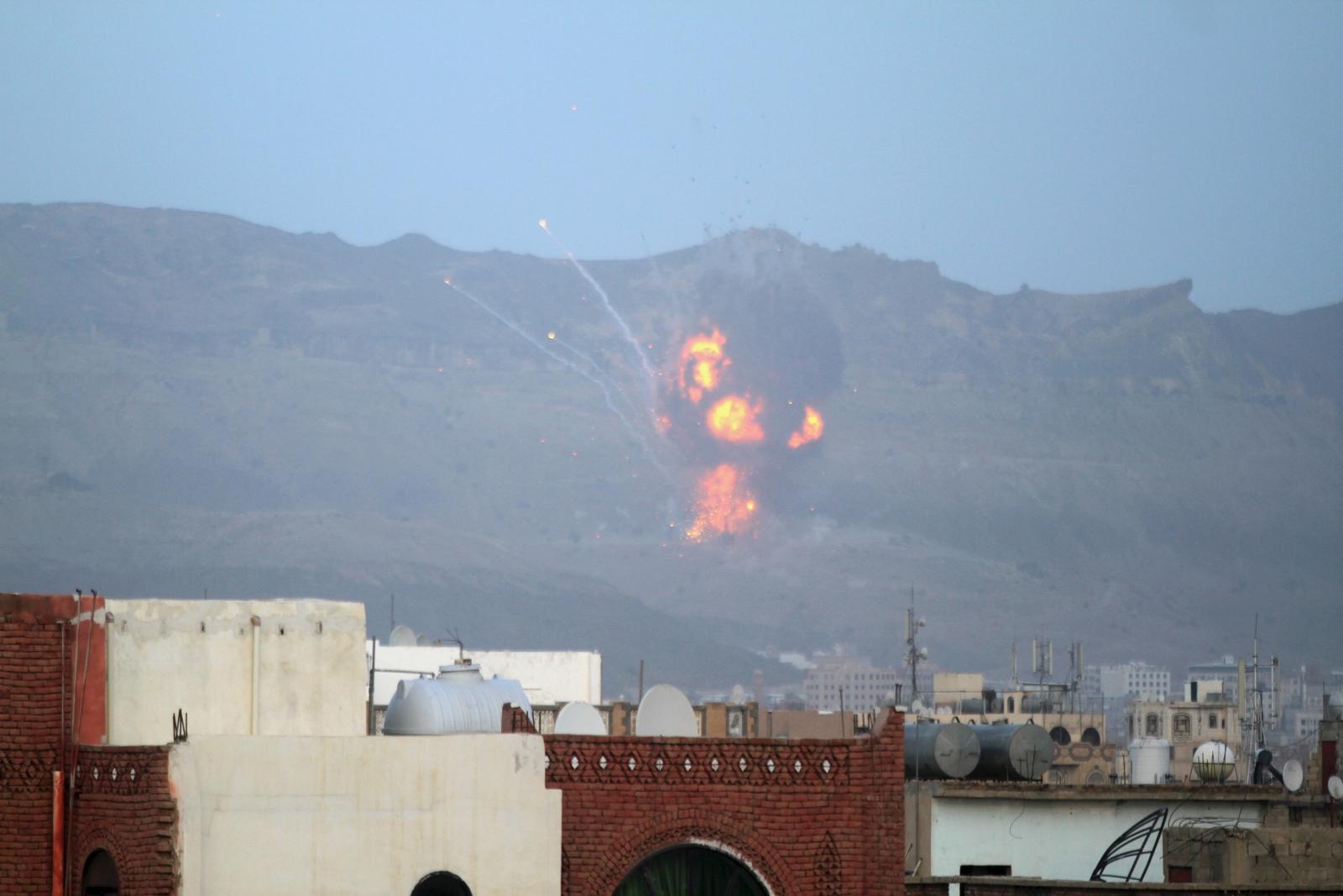 Yemen Sanaa conflict