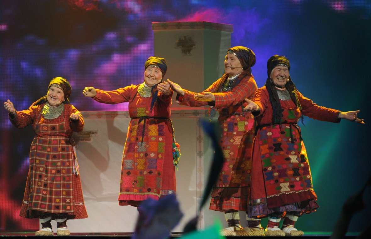 Eurovision Russia babushka