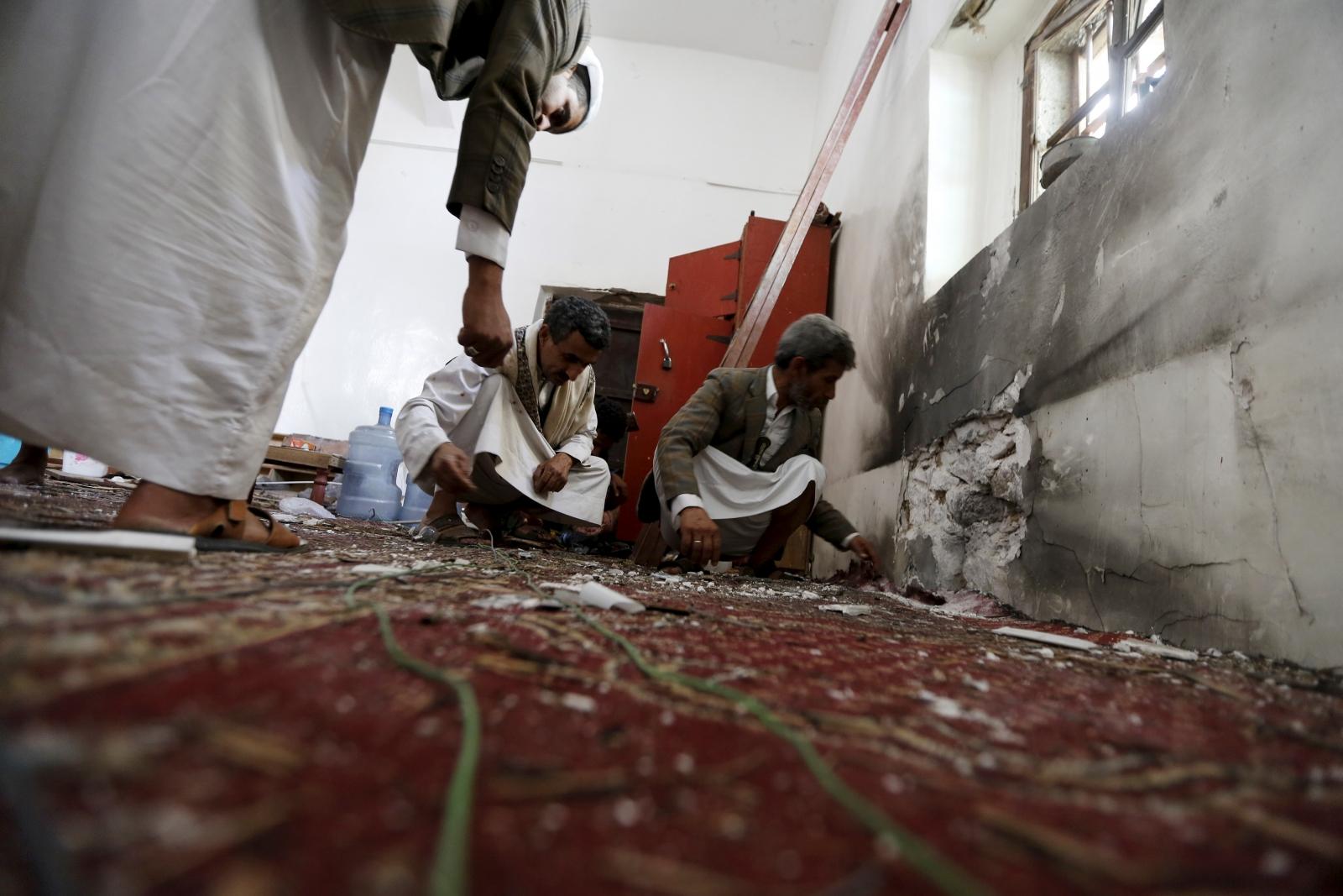 Yemen Sanaa Isis Bomb