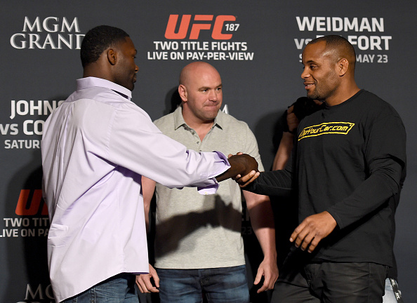 Anthony Johnson v Daniel Cormier