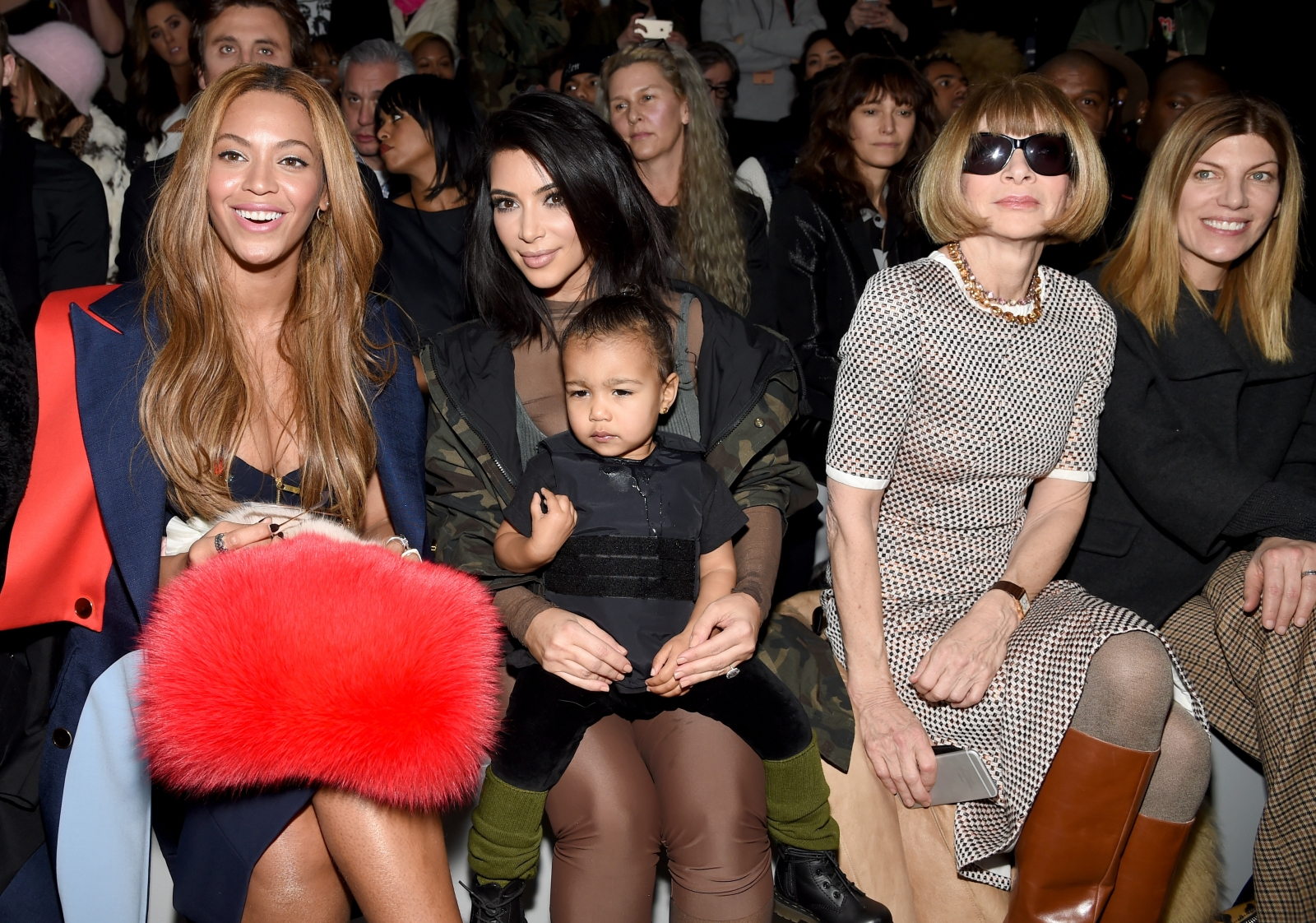 Beyonce, Kim Kardashian and Anna Wintour