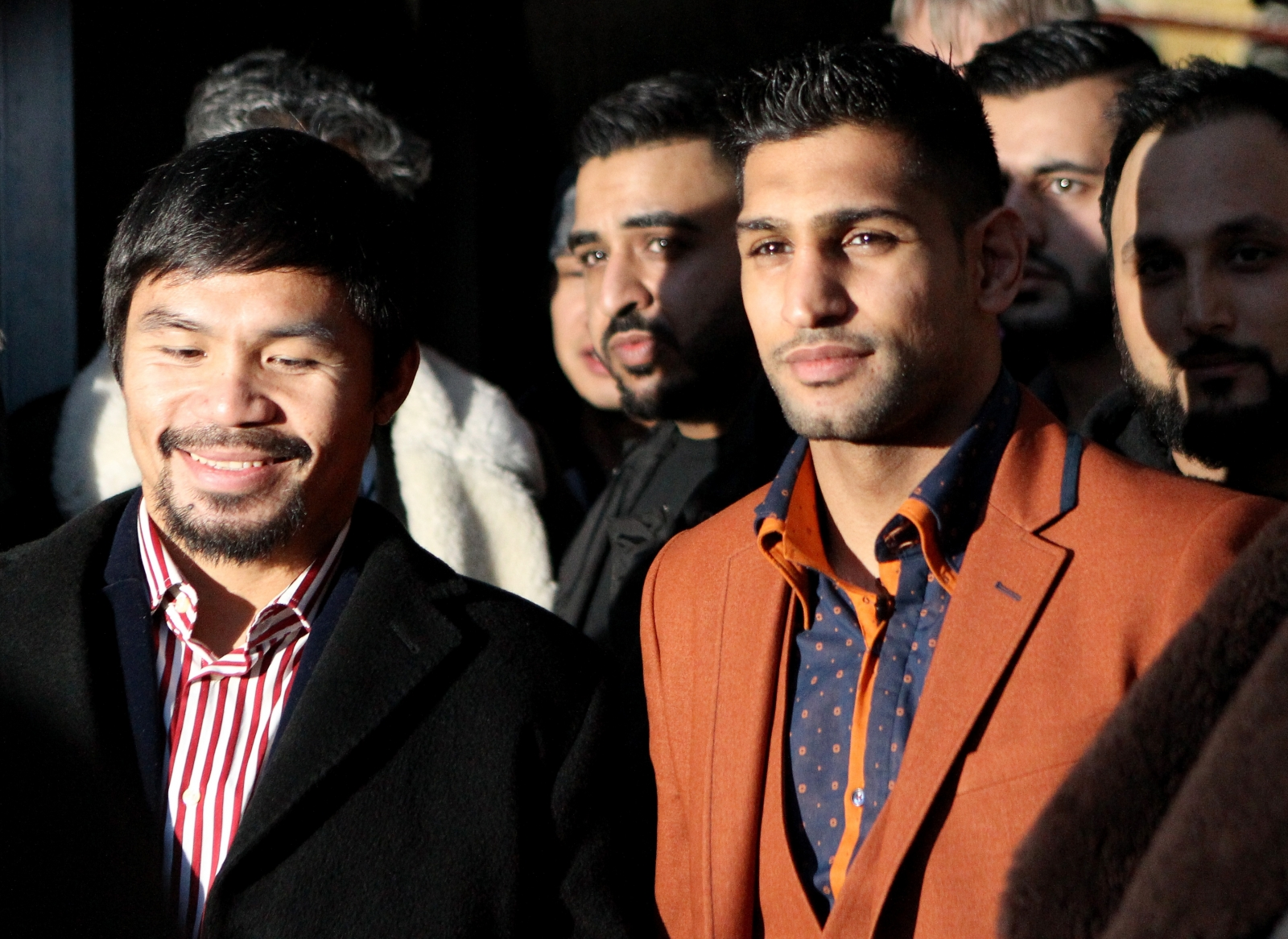Manny Pacquiao Says He's Negotiating To Fight Amir Khan