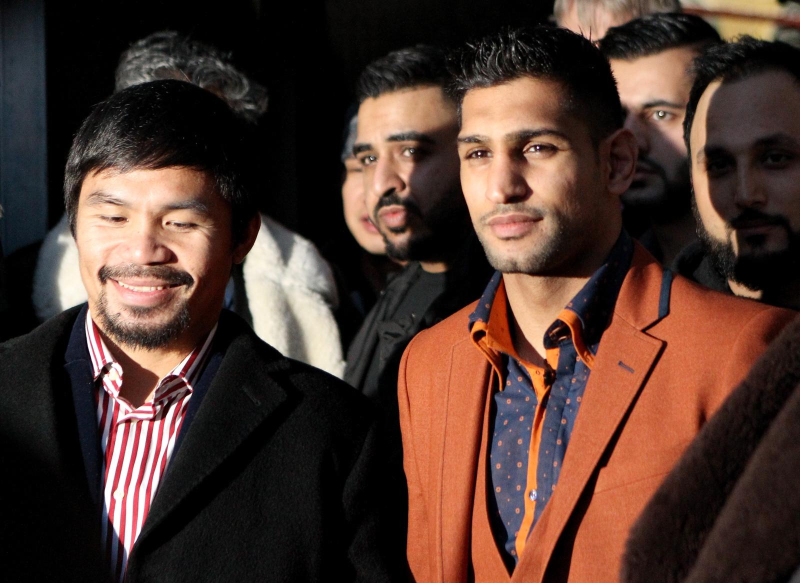 Manny Pacquiao Amir Khan