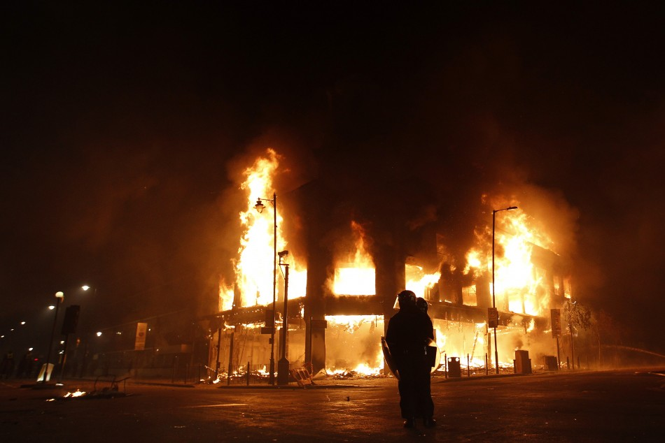 Tottenham Riot: North London Ablaze with Violence and Protests.