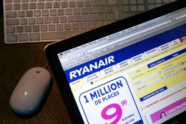 Ryanair website