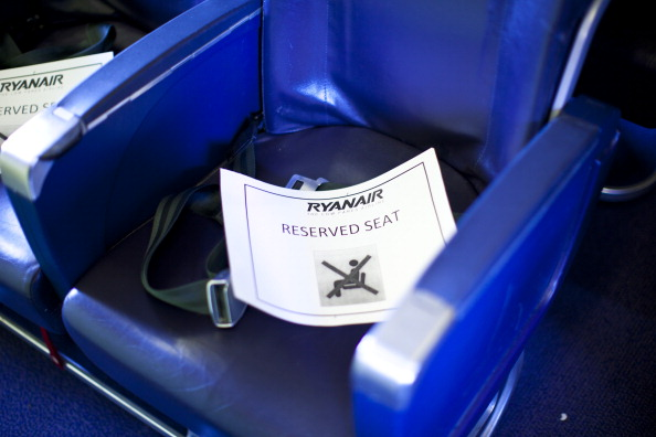 Ryanair seating