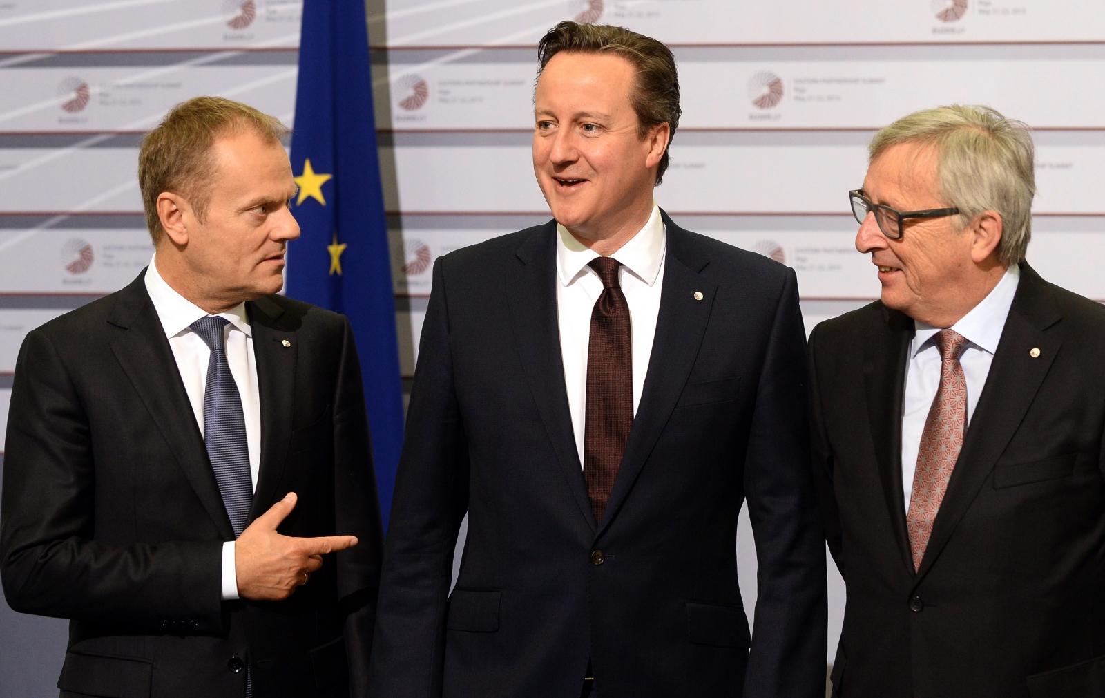 David Cameron in Europe