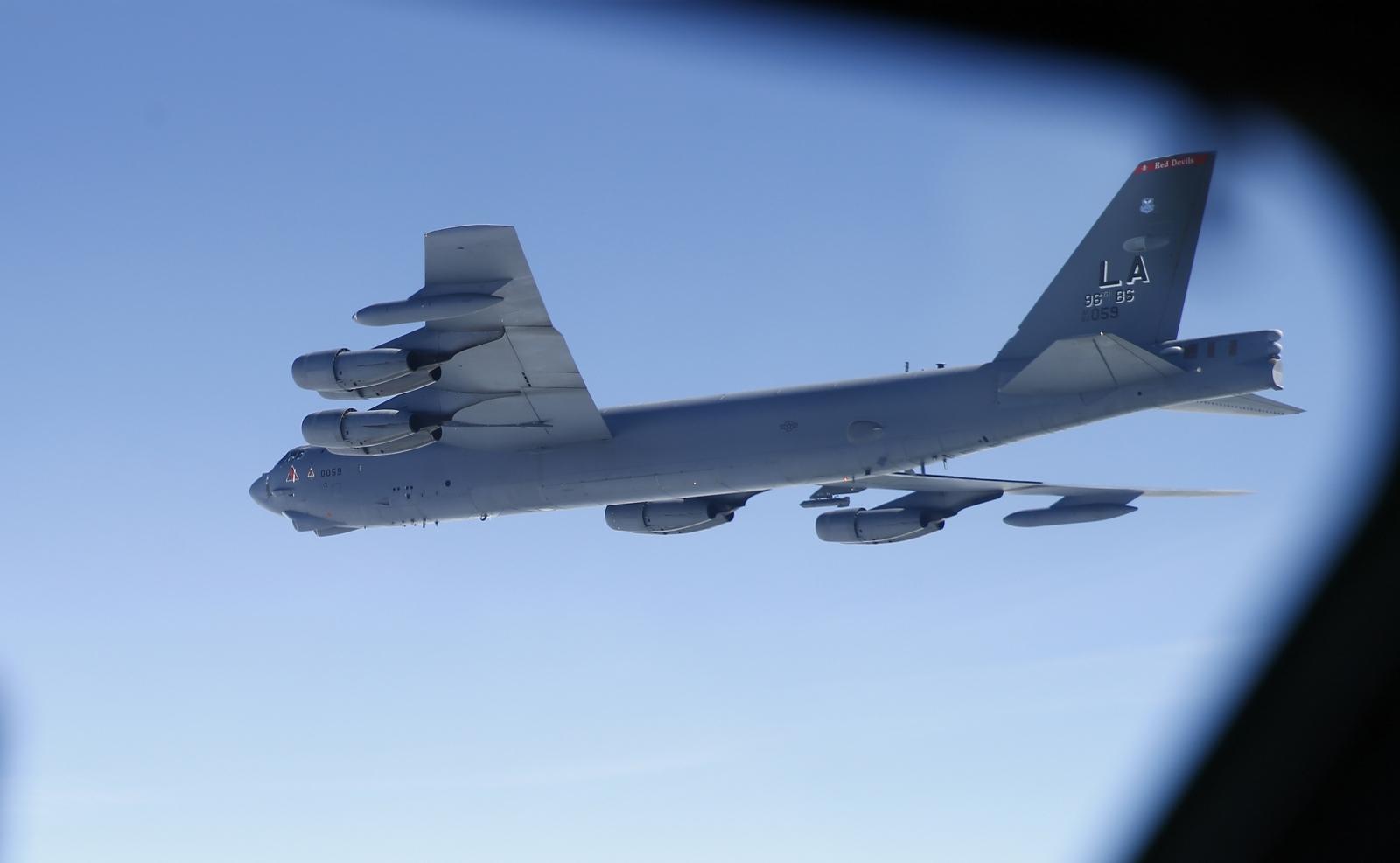 US B-52 Bomber