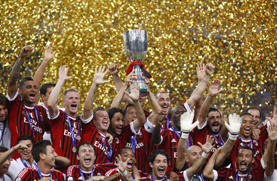 A.C. Milan won the Italian Super Cup
