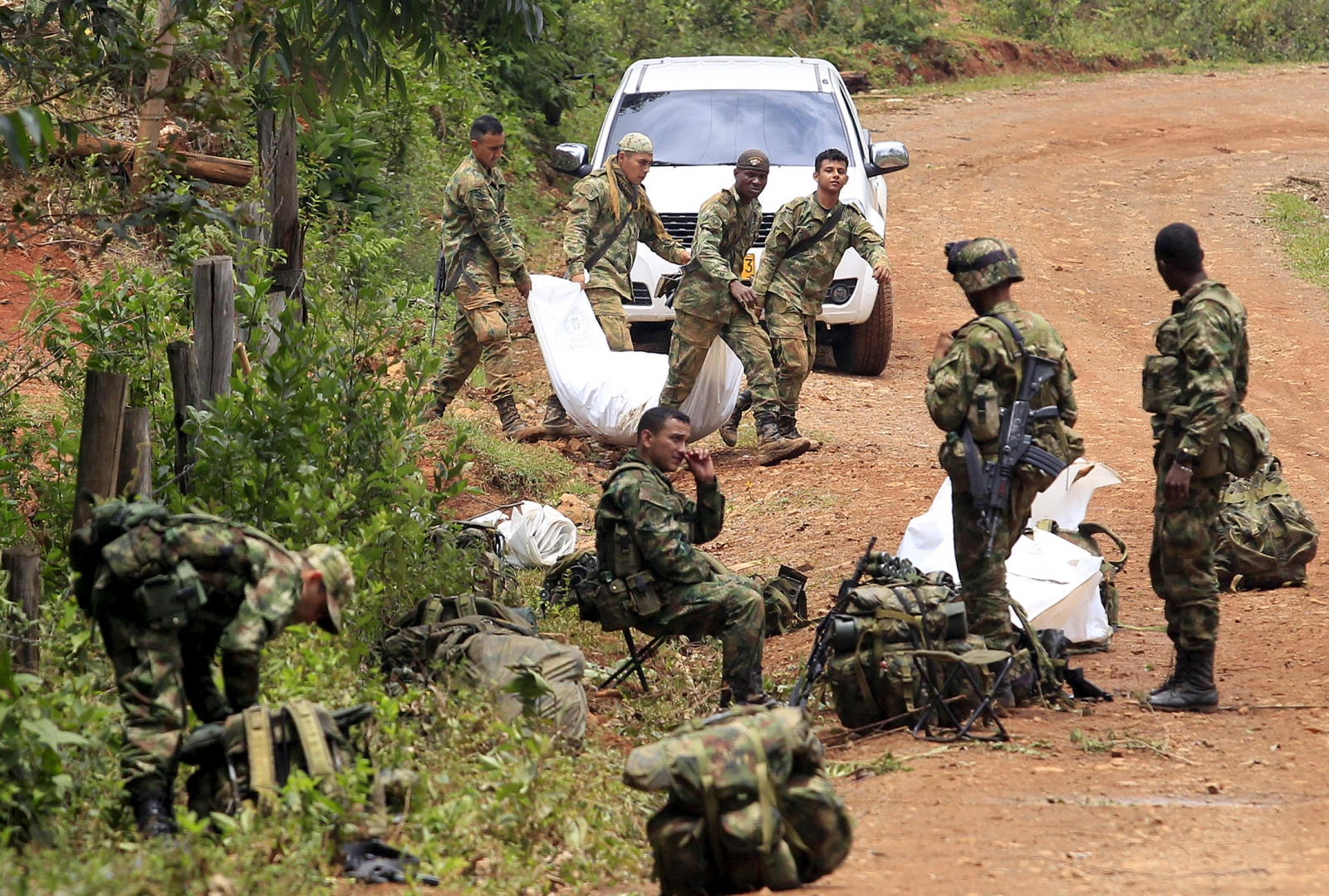 Colombia Farc Attack