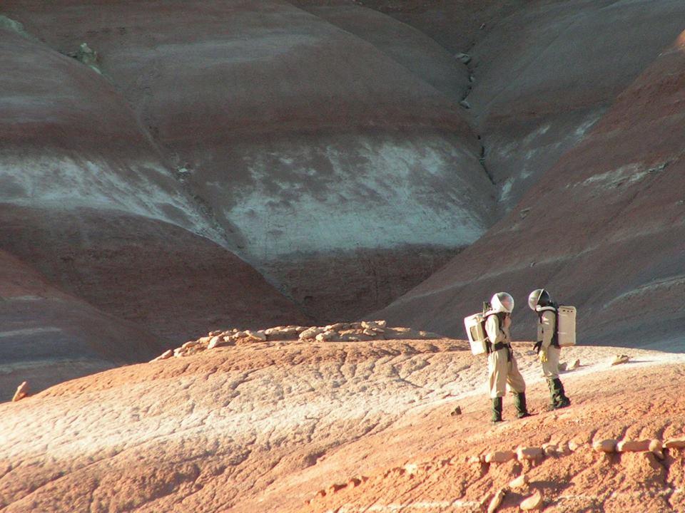 Mars training