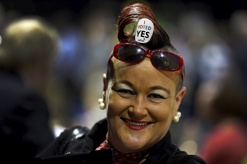 Ireland gay marriage yes voter