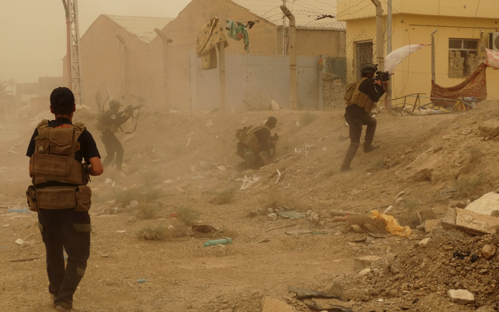 Iraq counter attack against IS