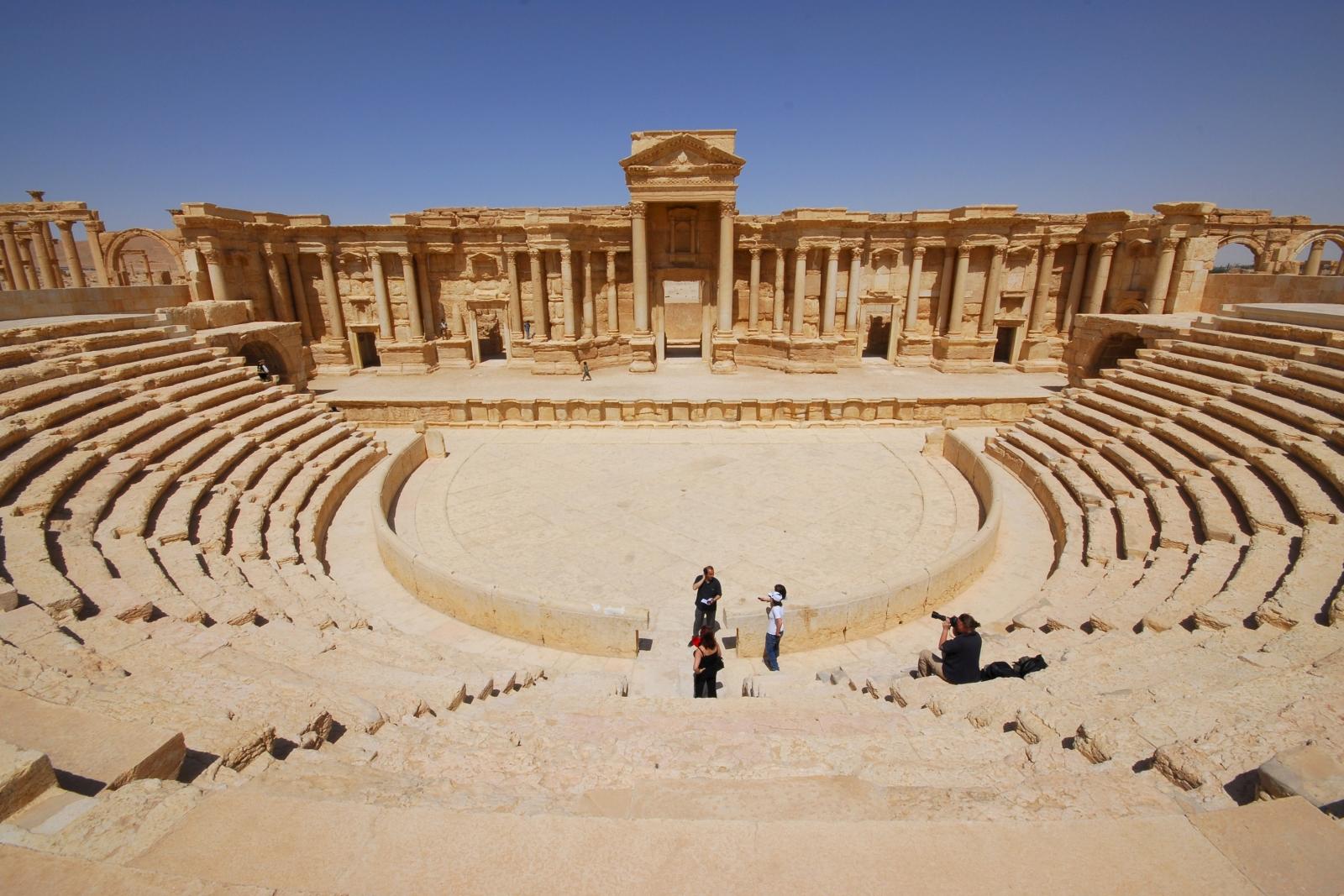 Ancient city of Palmyra