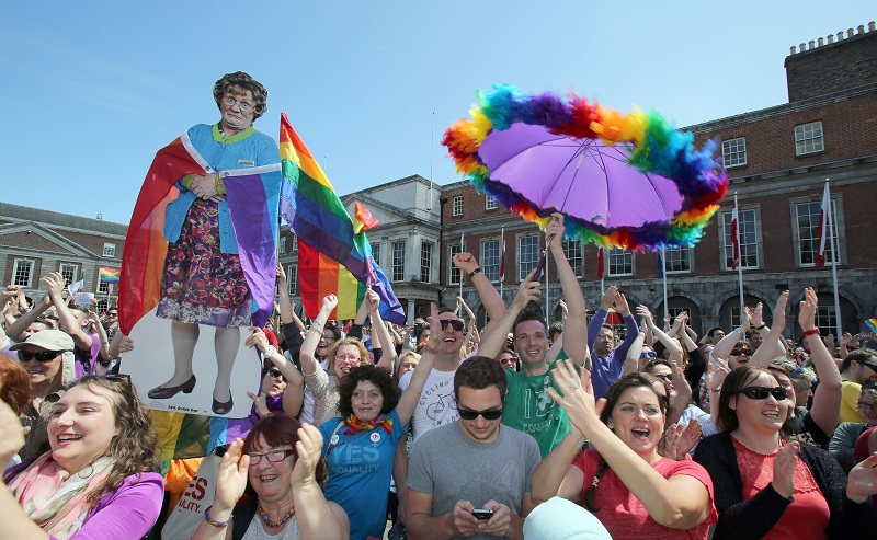 Ireland same-sex marriage supporters
