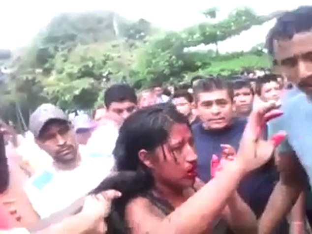 Guatemala 16-Year-Old Girl Videoed Being Beaten And -2848