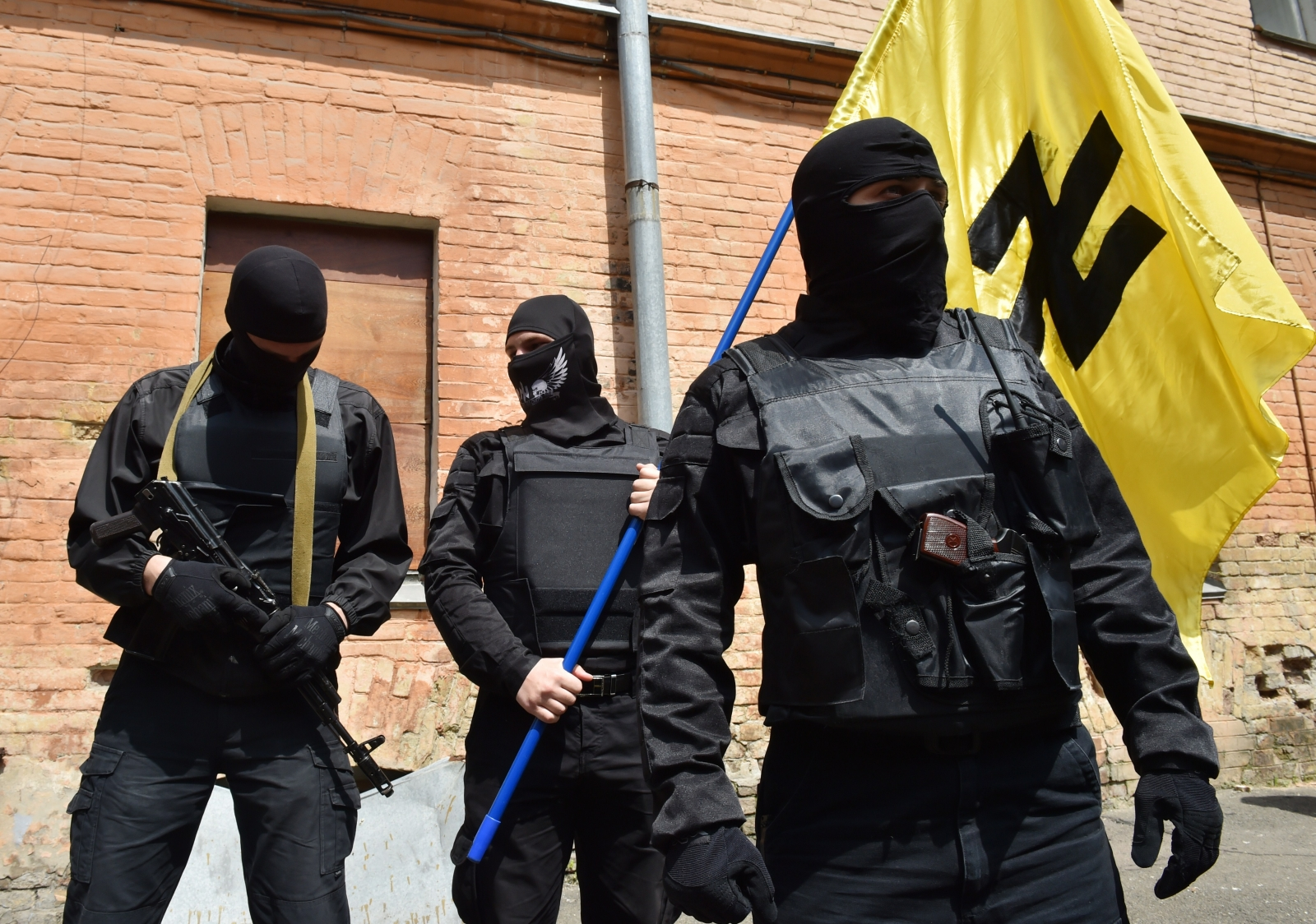 Right Sector east Ukraine fighters