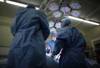 UK surgeons operate