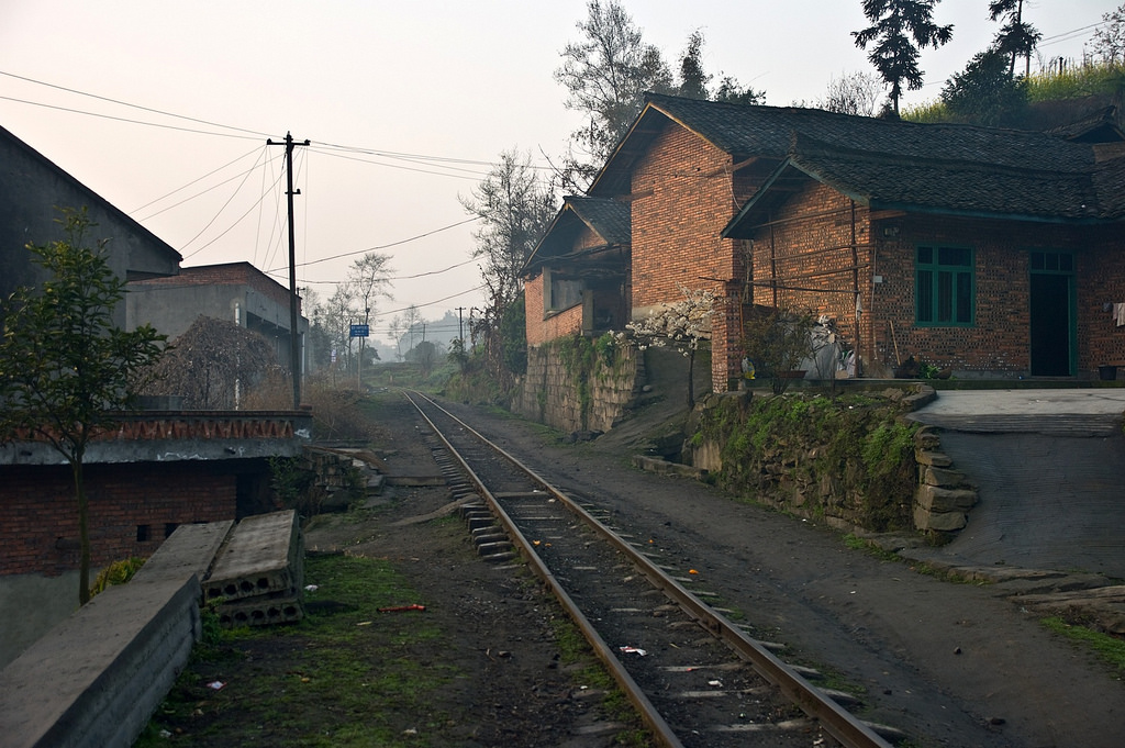 Sichuan train track