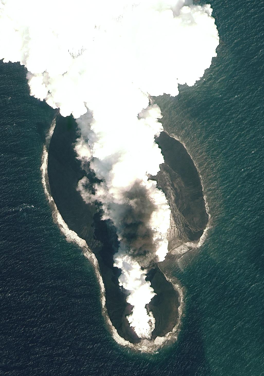 volcanic island red sea