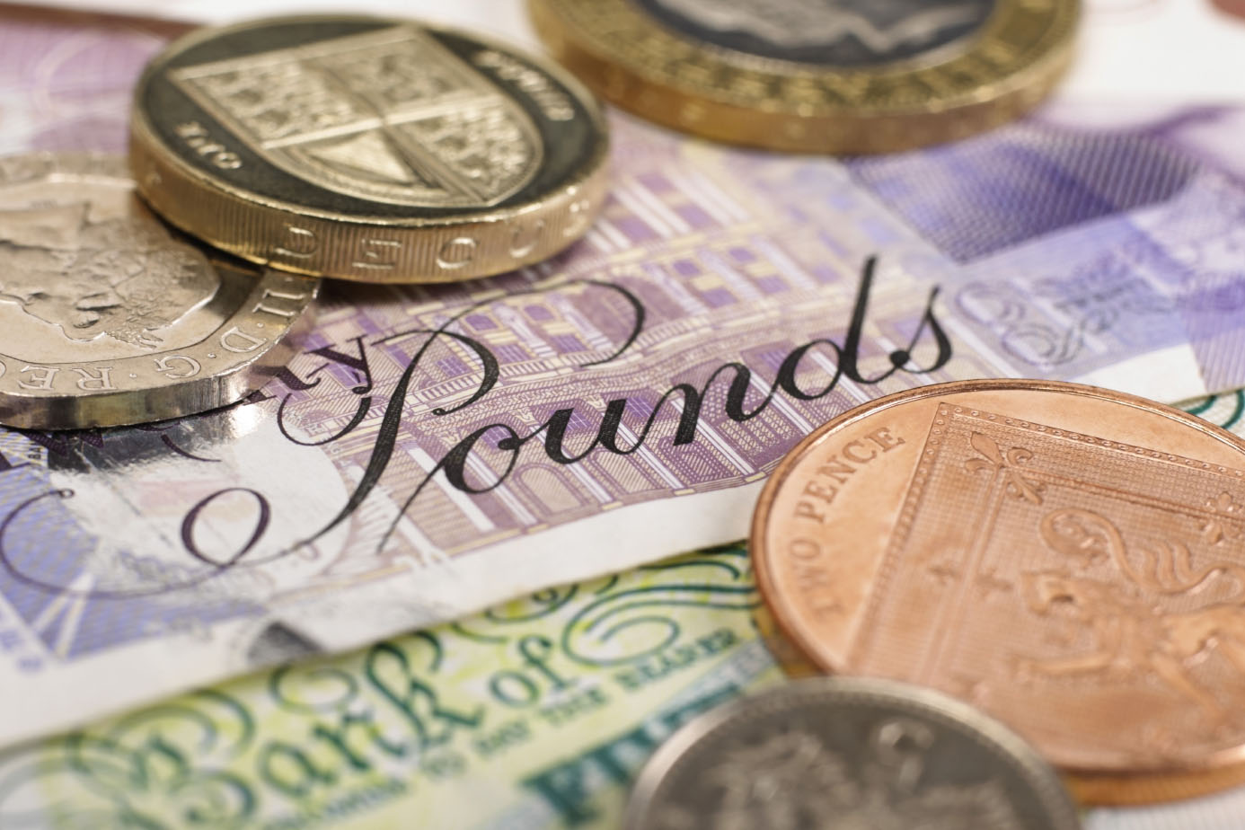 UK pound money currency sterling