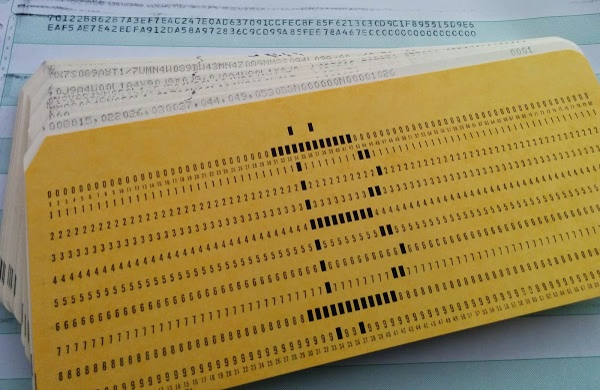 bitcoin mining punchcard IBM